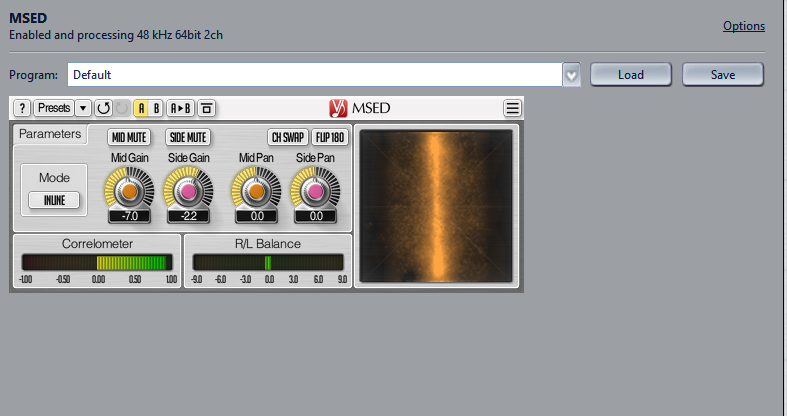 A Third Party VST plugin in JRiver's DSP Studio